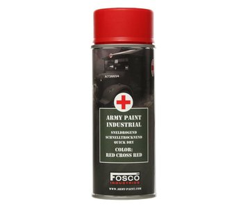 Fosco Army Paint 400ml - Red Cross Red
