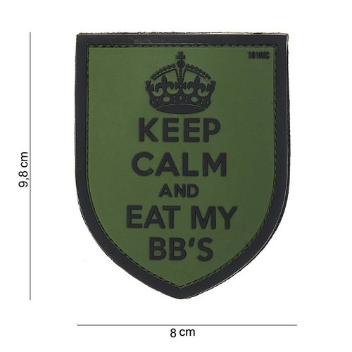 101Inc. 101Inc. PVC Keep Calm Groen