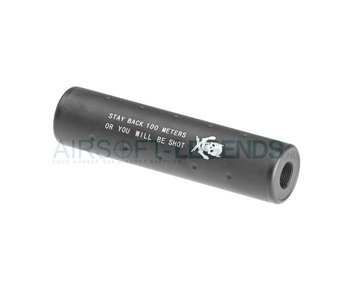 Pirate Arms 130x35 Stubby Silencer CW/CCW
