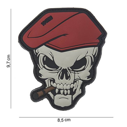 101Inc. 101Inc PVC Patch SigaarSkull
