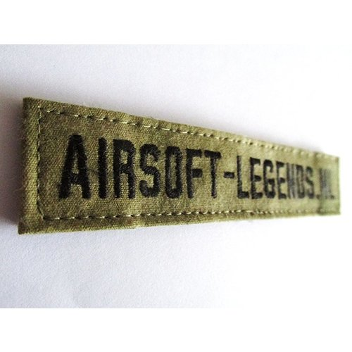 Airsoft-Legends Airsoft Legends Custom Name Tape (Multicam, AU or FG)
