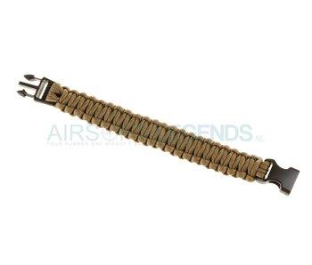 Invader Gear Paracord Bracelet Coyote