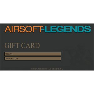 Airsoft-Legends Airsoft-Legends Gift Card