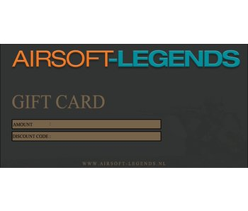 Airsoft Legends Gift Card