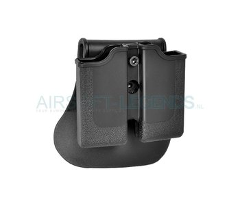 IMI Defence Single Row Double Magazine Pouch