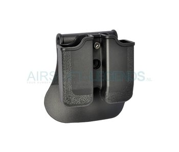 IMI Defence Double Row Double Magazine Pouch Type I
