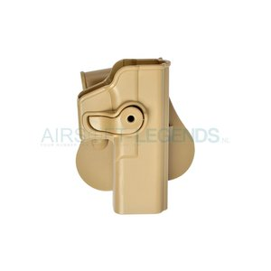 IMI Defense IMI Defence Roto Paddle Holster for Glock 17 Tan