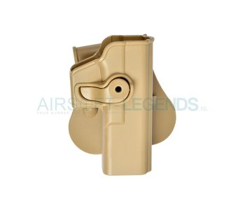 IMI Defence Roto Paddle Holster for Glock 17 Tan