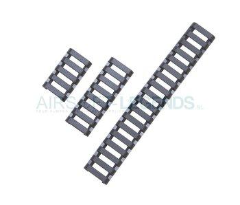 Element Low Profile Rail Cover Black