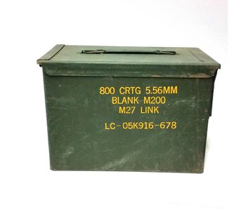 5.56mm ammunition Box 800 CRTG