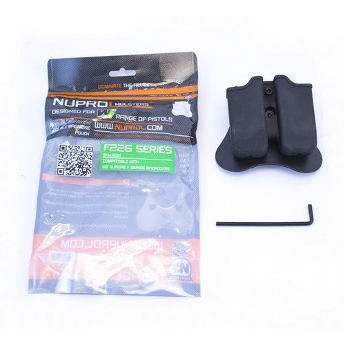 NUPROL Nuprol F Series P226 Double Magazine Pouch