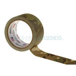 Pro Tapes Pro Tapes Cloth Concealment Tape 2 Inches x 10 yd Multicam