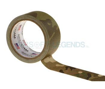 Pro Tapes Cloth Concealment Tape 2 Inches x 10 yd Multicam