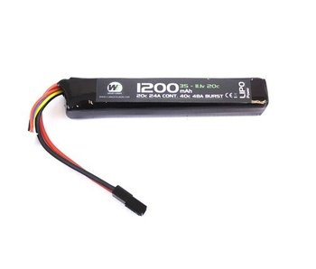 Nuprol LiPo 11.1V 1200Mah 20C Stick type