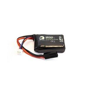 NUPROL Nuprol LiPo 7.4V 1200Mah 30C PEQ 15 Micro type