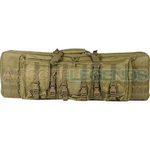 """Valken Falcons Tactical 42"""" Double Gun Bag Tan"""