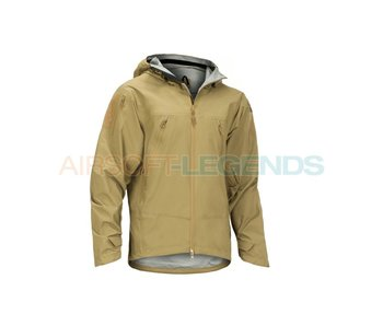 Claw Gear Melierax Hardshell Jacket Coyote