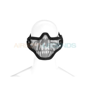 Invader Gear Invader Gear Steel Half Face Mask Death Head
