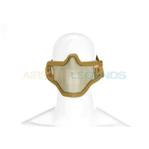 Invader Gear Invader Gear Steel Half Face Mask Tan