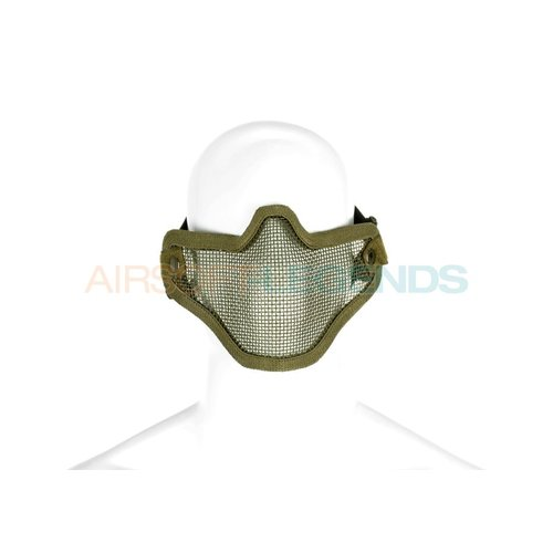 Invader Gear Invader Gear Steel Half Face Mask OD