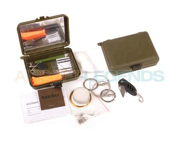 Fosco waterproof combat survival kit