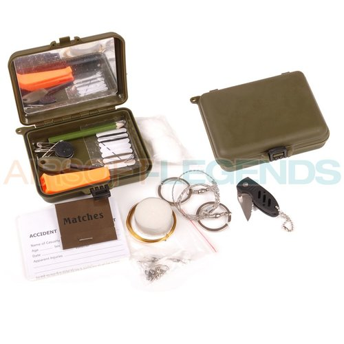 Fosco Fosco waterproof combat survival kit