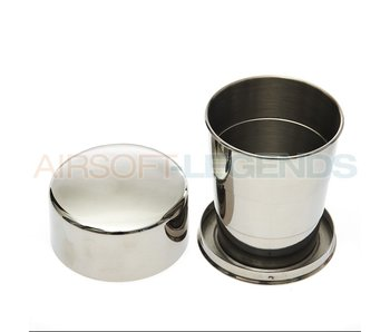 Fosco folding cup stainless steel