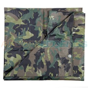 Fosco Fosco Canvas cover Woodland 3x4m