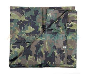 Fosco Canvas cover Woodland 4x5m