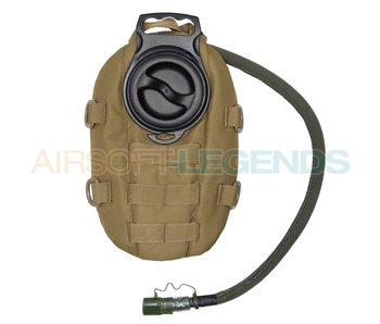 101Inc Waterpack Hydration Pouch Tan