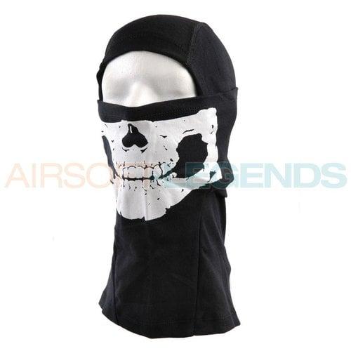 Fostex Fostex Balaclava Skull Black/OD/Khaki