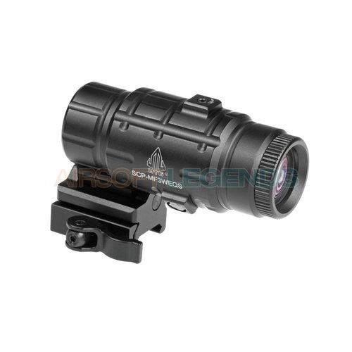 Leapers Leapers 3x Flip-to-Side QD Magnifier Adjustable TS