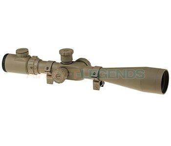 Element 8-32x50E-SF Sniper Rifle Scope