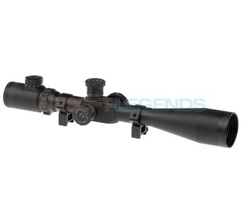 Element 8-32x50E-SF Sniper Rifle Scope Black