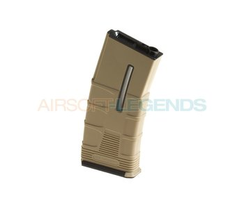 ICS Magazine M4 Hicap Tactical 300rds Tan
