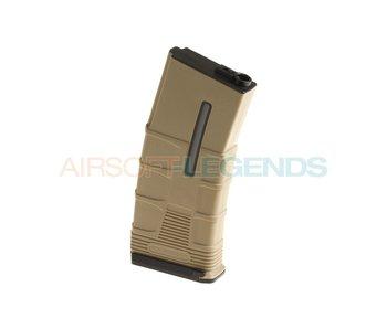 ICS Magazine M4 Midcap Tactical 180rds Tan