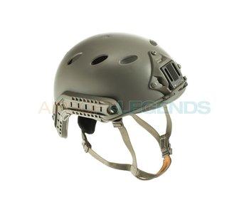FMA FAST Helmet PJ Simple Version Foliage Green