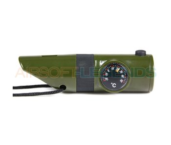 101Inc Tactical Whistle 7 in 1