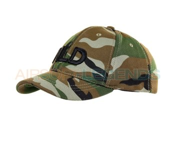 101Inc NLD Baseballcap Stretch Woodland
