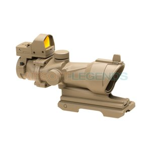 Element Element QD 4x32 Combo Combat Scope Tan