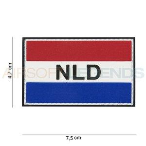 101Inc. 101 Inc NLD Flag met klitteband