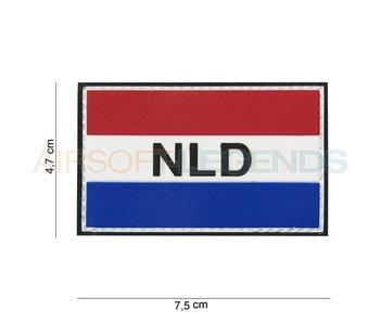 101 Inc NLD Flag met klitteband