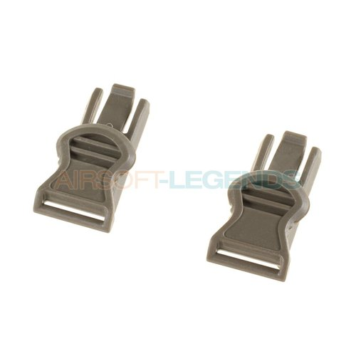FMA FMA Goggle Swivel Clips 19mm Foliage Green