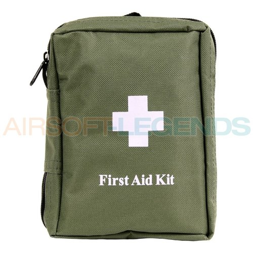 MFH MFH First Aid Kit Without Molle OD