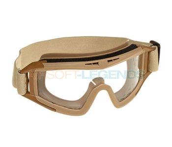 Invader Gear DLG Goggles Field Kit Tan