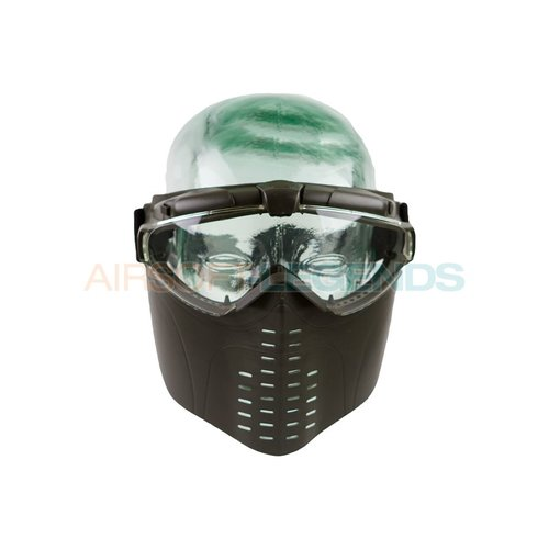Battle Axe Battle Axe Pro Vent Goggles OD