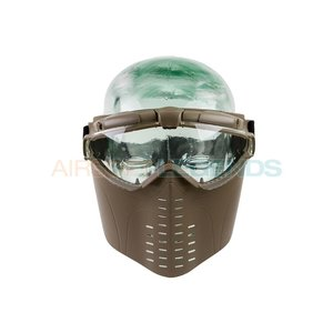 Battle Axe Battle Axe Pro Vent Goggles Tan