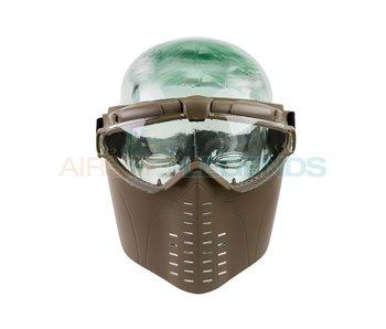 Battle Axe Pro Vent Goggles Tan