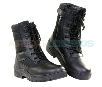 Fostex Sniper Boots with YKK Zipper Black