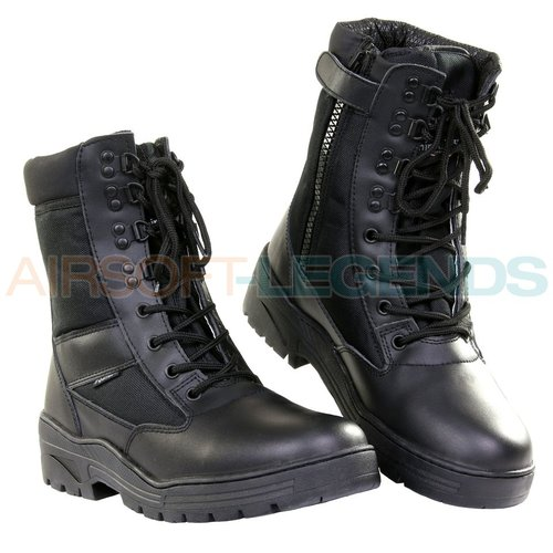 Fostex Fostex Sniper boots with YKK Zipper Black